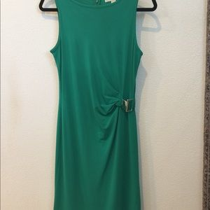 Michael Kors Midi Green Dress